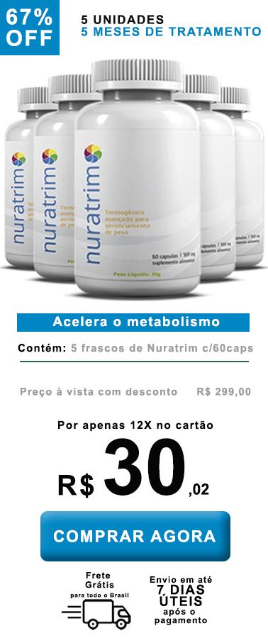 Nuratrim - Queima gordura sem efeitos colaterais